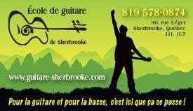 École du guitare de Sherbrooke